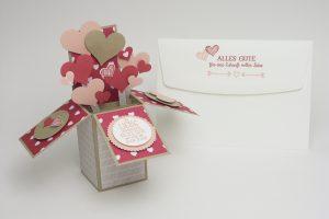 Faltbox zur Hochzeit